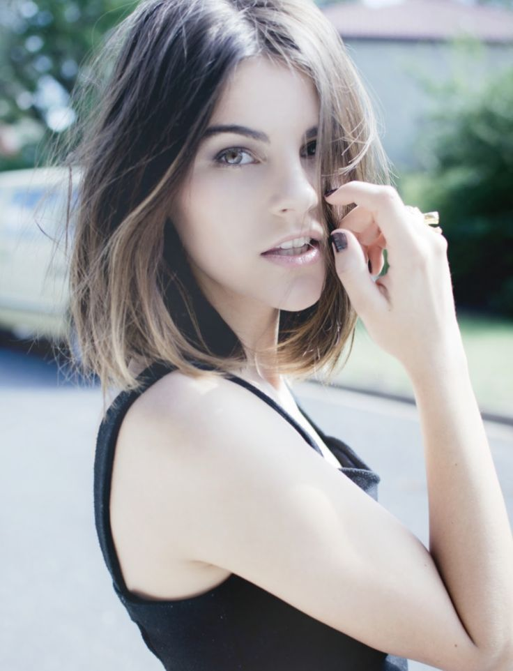 Shoulder Length Tumblr Hair Haircuts Gallery Pinterest