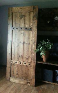 Interior Barn Door - Sliding Wooden Door - Barn Door with ...