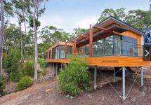 Modern House On Slope