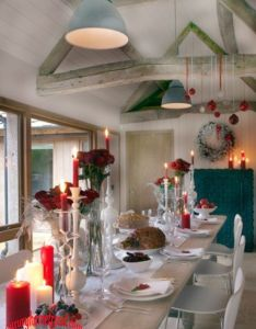 Cool christmas table decorations also decoration ideas rh pinterest