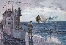 U Boat Sinking In Ww1 Naval