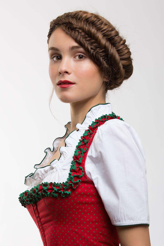 Wiesn Krone Moderne Dirndl Frisuren Für Das Oktoberfest 2015