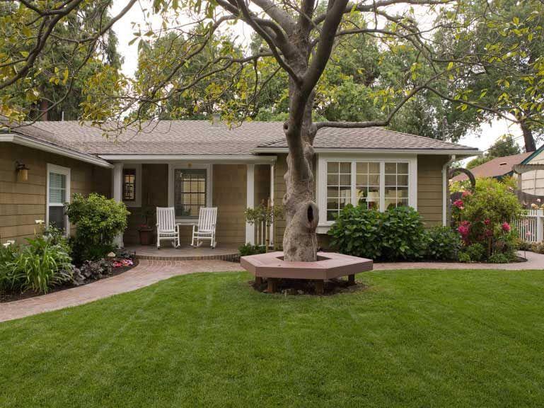 California Stucco Ranch To Craftsman Outdoor Ideas Pinterest