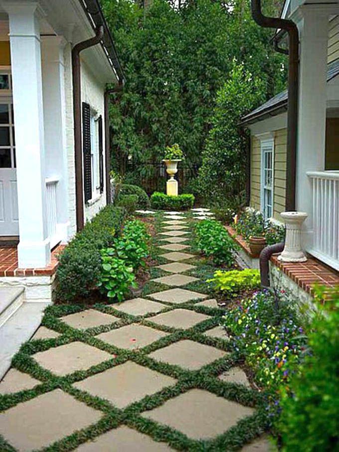 25 Most Beautiful DIY Garden Path Ideas Gardens Beautiful And