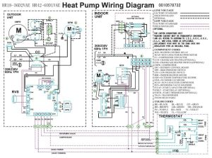 Trane Heat Pump Wiring Diagram | Heat pump pressor Fan