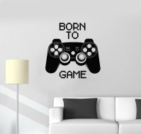 Vinyl Decal Quote Video Game Computer Joystick Gaming Teen ...