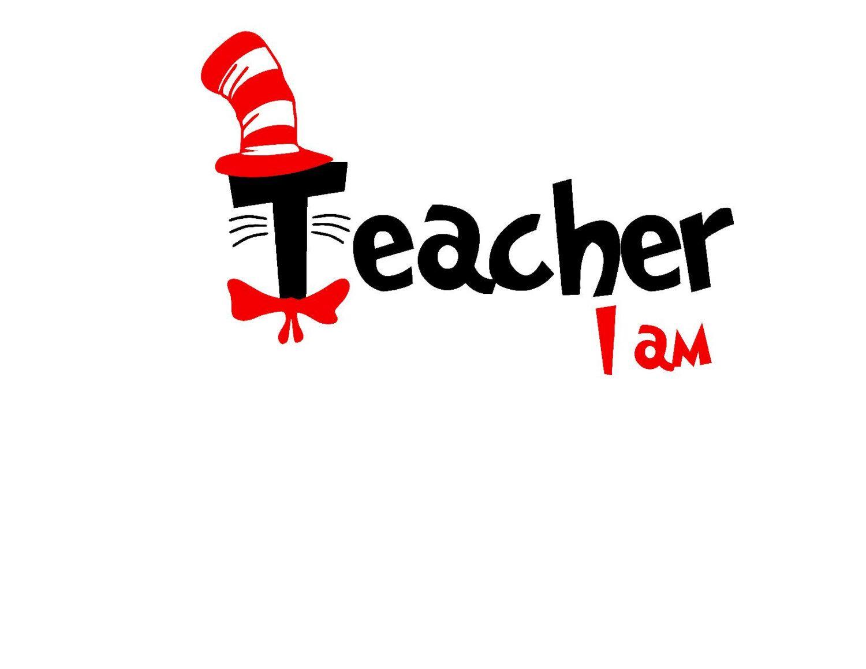 Dr Seuss Read Across America Teacher I Am Cat In The Hat