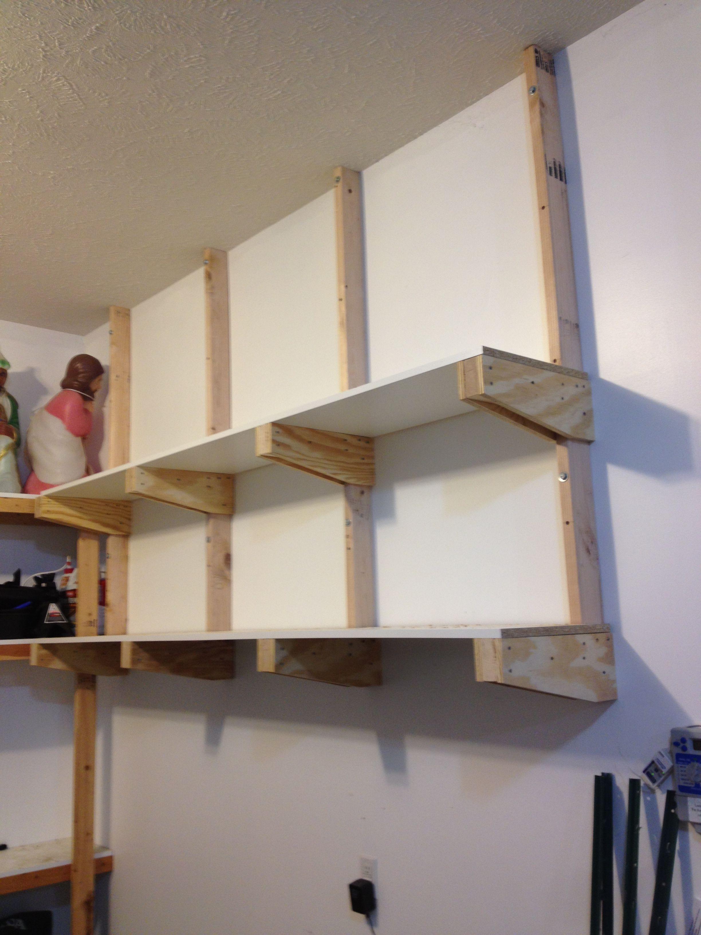 Diy Garage Shelves For Your Inspiration  Garage storage