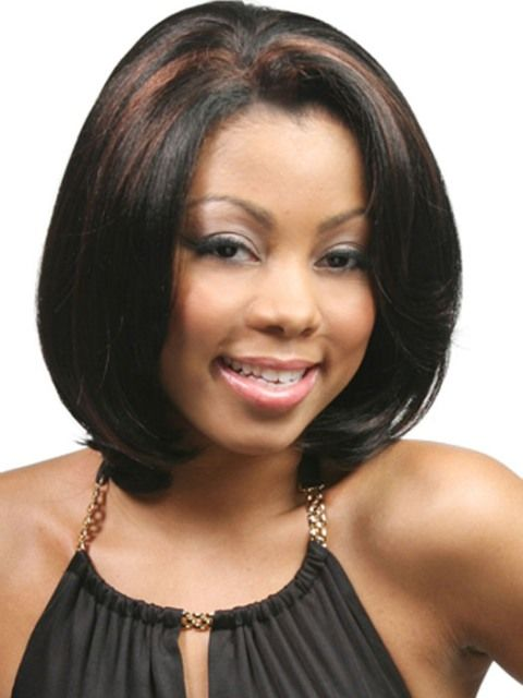Medium Length Hairstyles For African American Women With Round