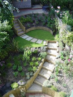 Garden Barriars On Sloping Site Google Search Pinteres
