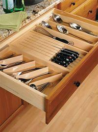 kitchen drawer organizer ideas | home ideas | Pinterest ...