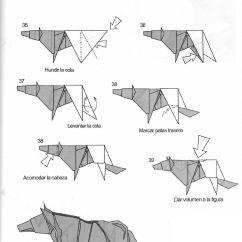 Intermediate Origami Dragon Diagram 1994 Honda Civic Fuse Resultado De Imagen Animales Paso A