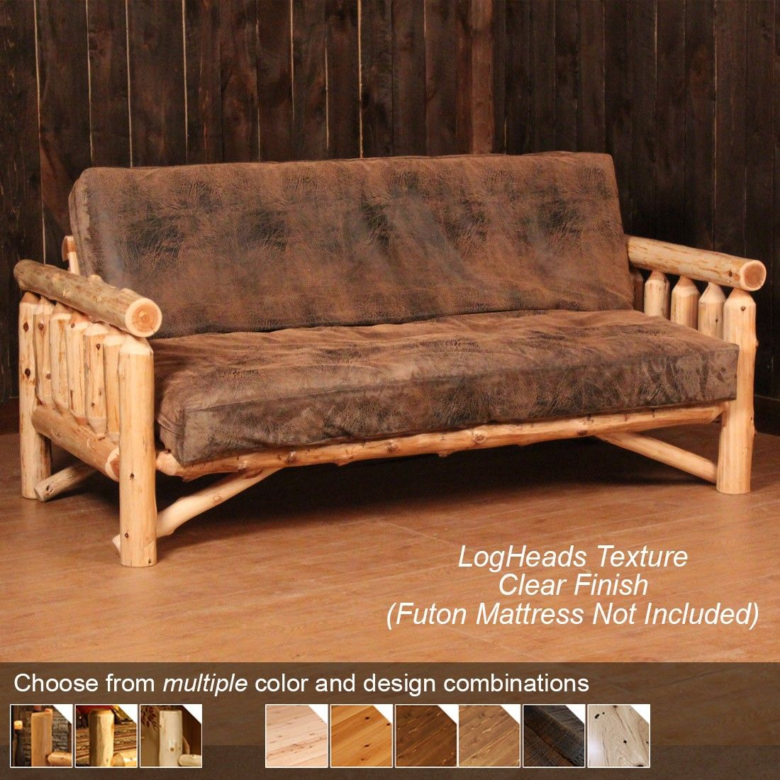 lodge sofa cover barker and stonehouse bed log futon rustic ideas for barndo pinterest