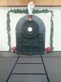 Polar Express: Ward Christmas Party. Our ward should