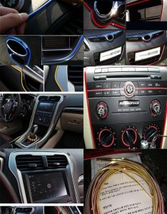 Visit to buy  mm universal car styling diy cold line flexible also rh za pinterest