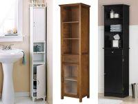 Amazing Narrow Bathroom Cabinets #1 Tall Narrow Bathroom ...