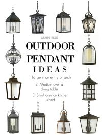 Outdoor Lighting - Outdoor Pendant Ideas from @lampsplus # ...