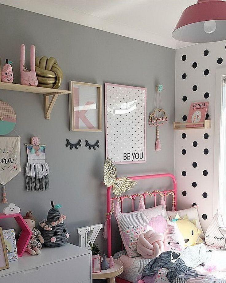 Girls room decor ideas little diy shabby chic tween organization also rh pinterest