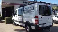 Mercedes Sprinter install of Aluminess roof rack with ...