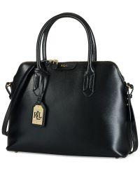 Lauren Ralph Lauren Tate Dome Satchel - Designer Handbags ...