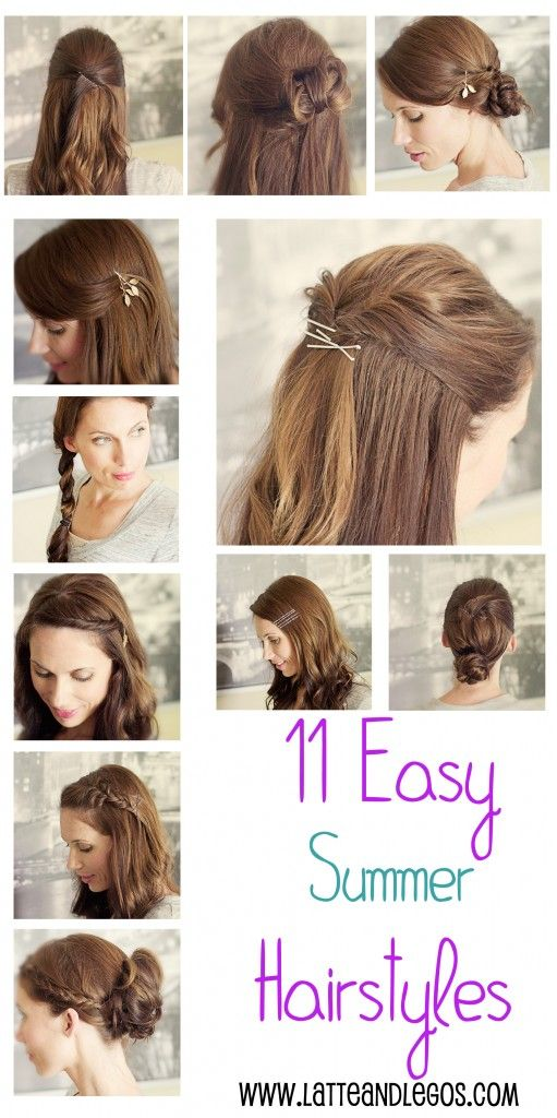 Cute Summer Hairstyles PERSONAL STYLE Pinterest Hair Style