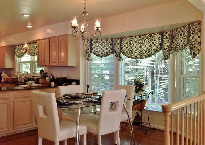 Modern Kitchen Curtains And Valances Home Decorating Pinterest