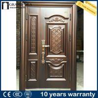 Elegant design different color steel grill door design for ...