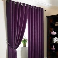 Plum Colored Bedroom Curtains