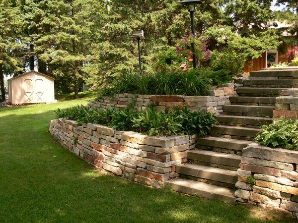 galerie fur bepflanzung terrasse hang | sichtschutz, Garten und erstellen