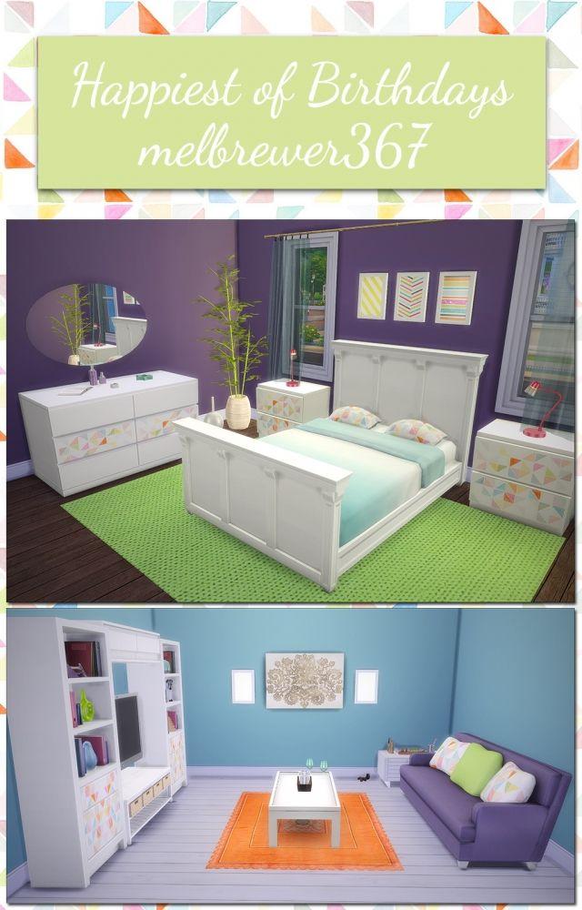 Furniture Recolors At Saudade Sims Via Sims 4 Updates