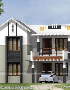 Sq ft simple home design also modern slanting roof house designs pinterest and rh