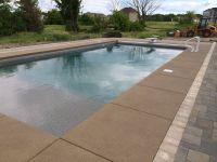 Colored Concrete Pool Deck Gorgeous Pool Decks Colored