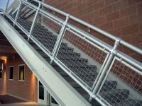 woven wire metal railings exterior | ... Wall Along With ...