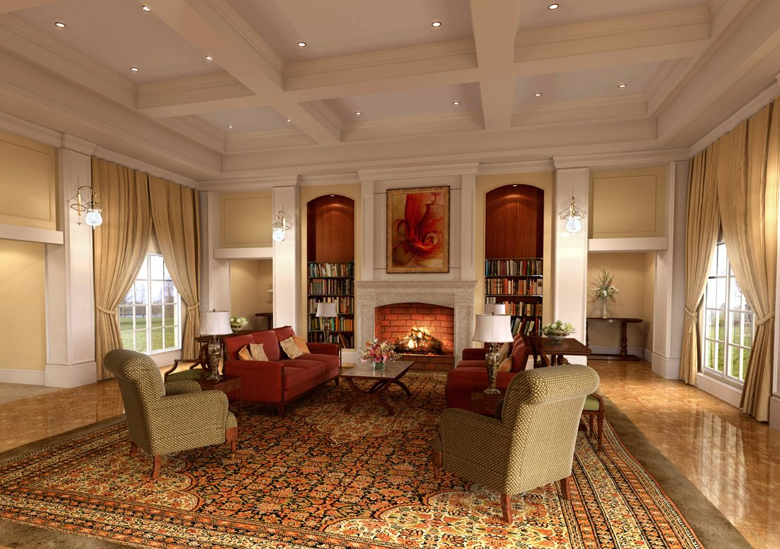PULTE Homes Designs Living Rooms Great Rooms And Dining Rooms