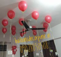How To Hang Balloons From The Ceiling Without Helium ...