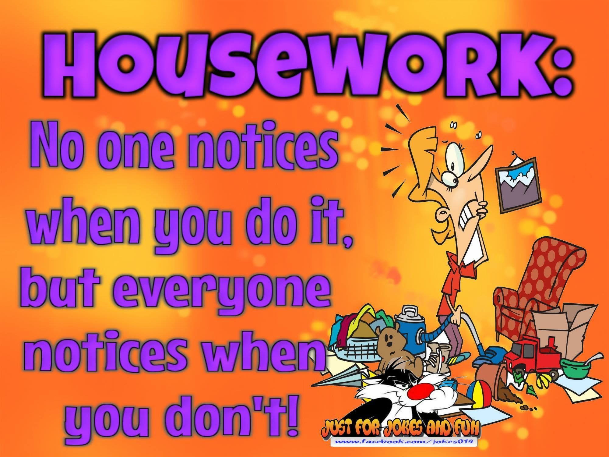 Funny Quotes About Work Funny Quotes About Men And House Work Picture