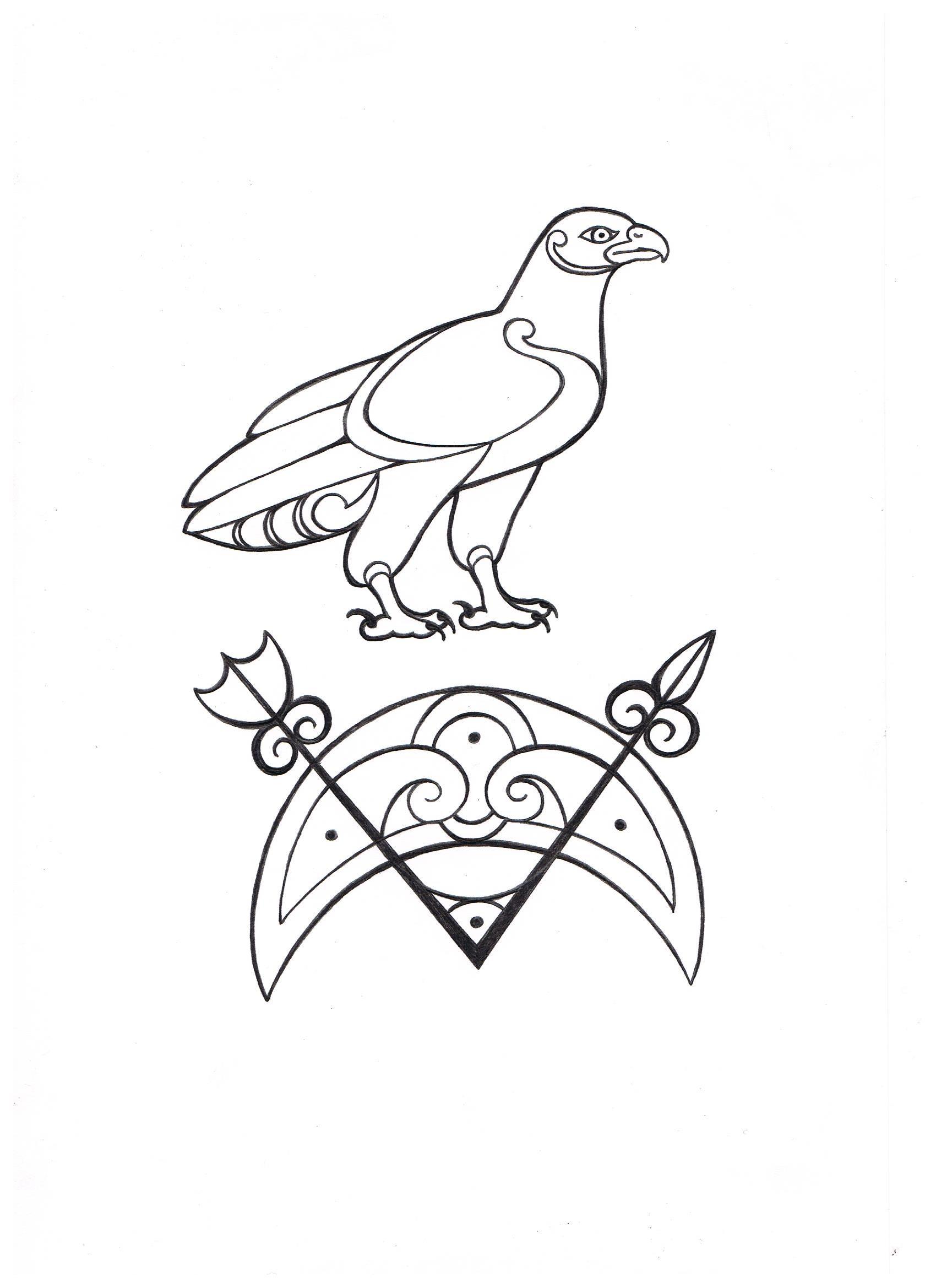 Pictish symbol stone found in Aberdeenshire Scotland