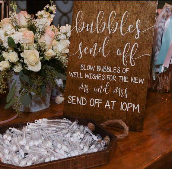 Display Bubbles How Wedding