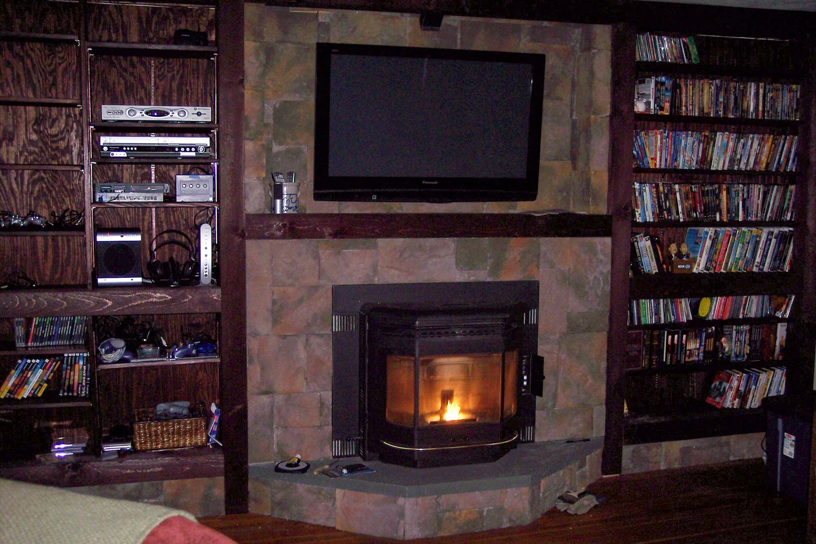 Fireplace And Flat Screen Tv Designs