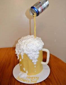 Cake designs beer also cakes pinterest and birthday rh