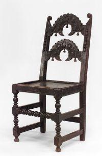 English Jacobean seating chair/side chair oak | Jacobean ...