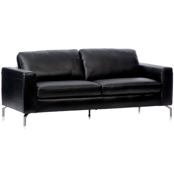 natuzzi leather sofa replacement legs chair with wheels metal leg stainless steel modern corner ...