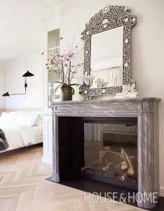 This new build home masters the mix of modern  vintage also chevron rh pinterest