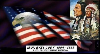 Image result for iron eyes cody