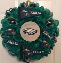 Philadelphia Eagles Wreath! Great Christmas Gift! Order