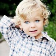 blonde-haired boy jesus loves