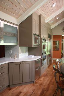 Gentry Door Style With Mushroom Paint. Designer Jennifer