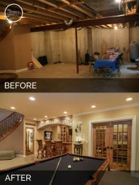 Brian & Danica's Basement Before & After Pictures ...