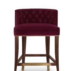 Velvet Chair Design Ergonomic Sydney Bourbon Counter Modern Chairs