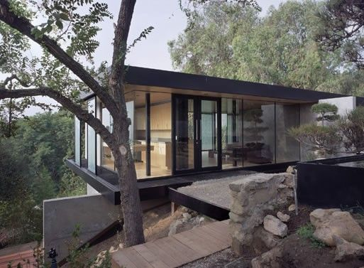 Hilltop House In Pasadena CA By Ladd Marmol Radziner